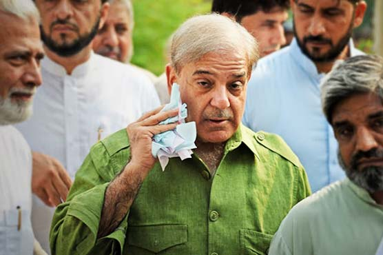 Shehbaz Sharif's name placed on ECL