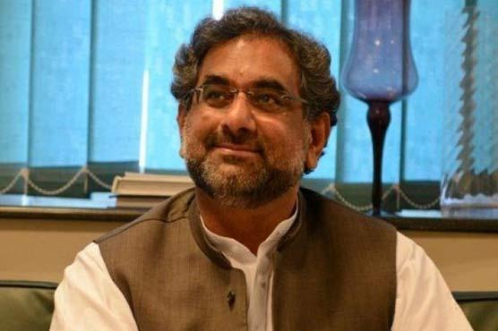 Shahid Khaqan Abbasi campaigns for PK-30 by-elections in Balakot