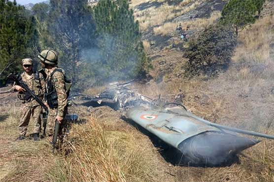 Pakistan Air Force downs two Indian fighter jets