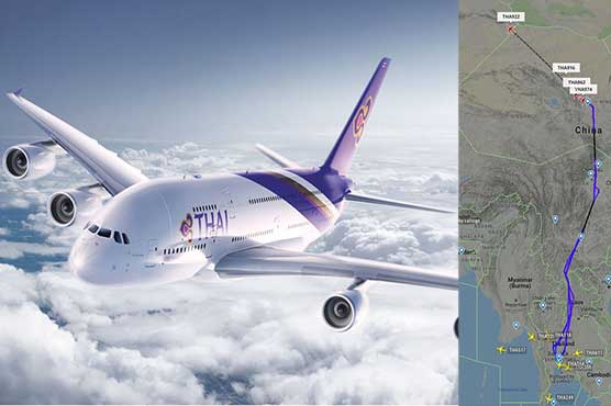 Thai Airways flights change route amid Pak-India tensions ...