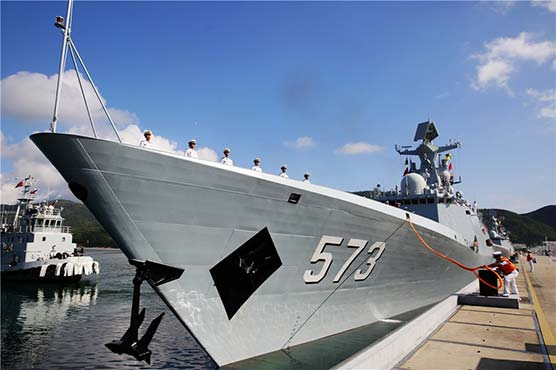 China building 'most advanced' naval warship for Pakistan