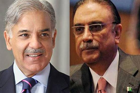 Zardari meets Shehbaz over possible joint alliance