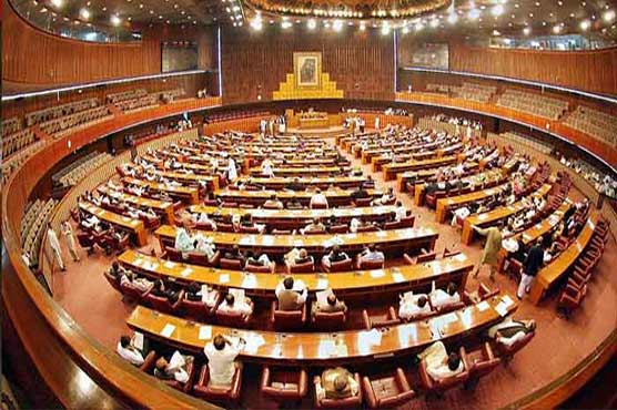 NA session disrupted over rift between govt and opposition
