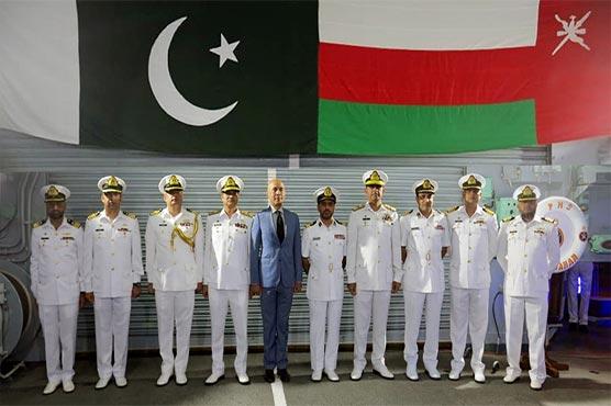 Pakistan, Oman Navy conduct bilateral exercise