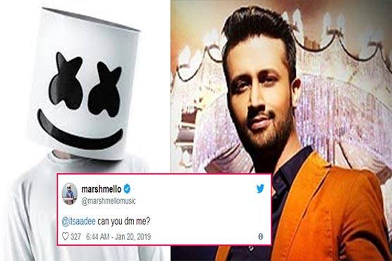 Marshmello plus Atif Aslam: New song in the pipeline