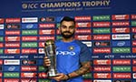 Kohli becomes first to sweep top three ICC awards