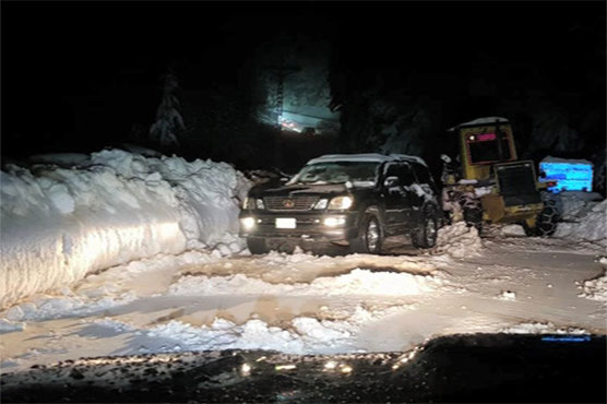 Pakistan Army, PAF teams rescue tourists stranded in Nathia Gali