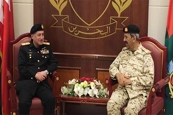 Naval Chief meets Commander-in-Chief Bahrain Defence Forces