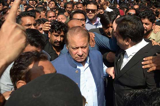 Nawaz Sharif files bail plea on medical grounds in IHC