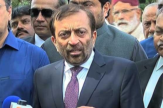 Farooq Sattar alleges mayor of vandalism in Karachi