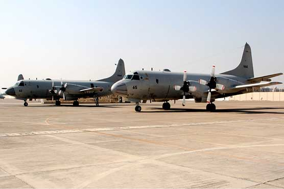 Two Japanese naval aircraft visit Karachi for Pre Aman-19 exercise