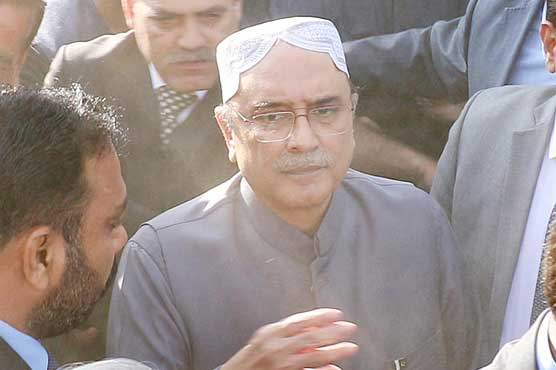 IHC fixes PTI's plea seeking disqualification of Asif Ali Zardari for hearing