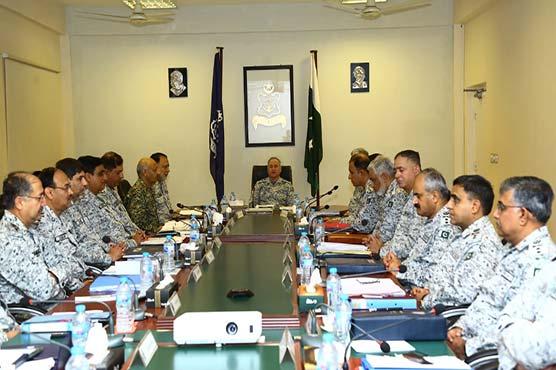 CNS expresses confidence over operational preparedness of Pakistan Navy