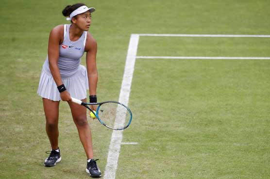 Naomi Osaka crashes out with first round defeat at Wimbledon