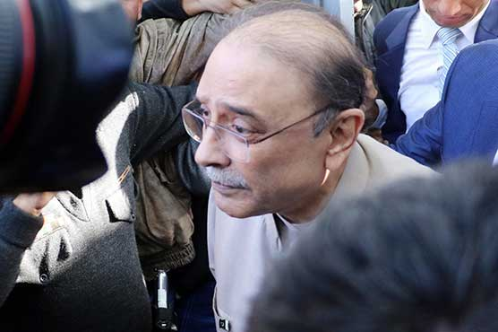NAB issues arrest warrant of Zardari in Park Lane case
