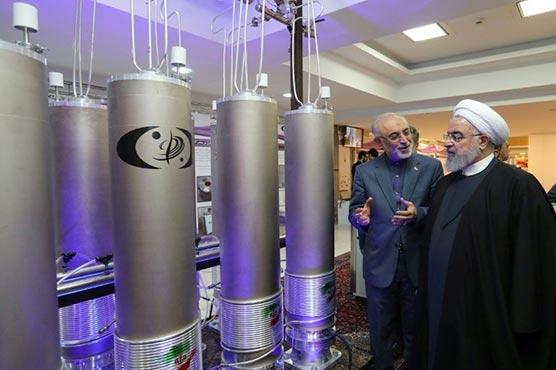 Iran says it exceeds enriched uranium stockpile limit