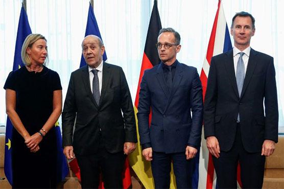 EU, France, Germany and UK urge Iran to reverse uranium decision