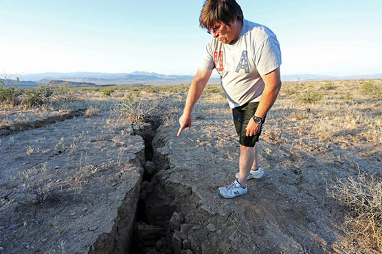 California quake  may have killed man in Nevada
