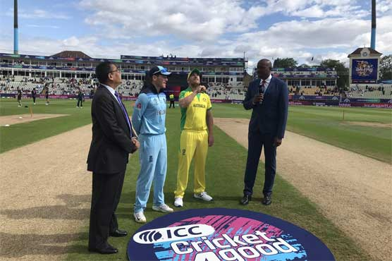 World Cup 2019 live: Australia win toss, bat against England