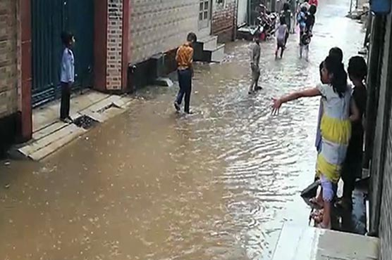 Intermittent heavy rain inundates parts of country