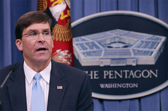 Pentagon gets 3rd acting chief since Mattis -- temporarily