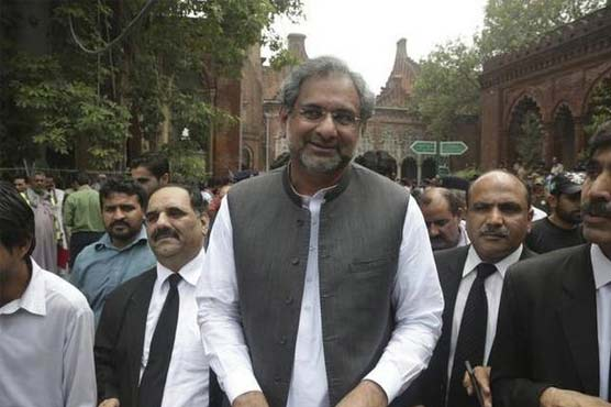 LNG case: NAB to present Shahid Khaqan Abbasi in court to get transit remand today
