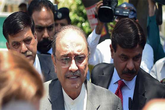 NAB files Park Lane reference against Asif Ali Zardari