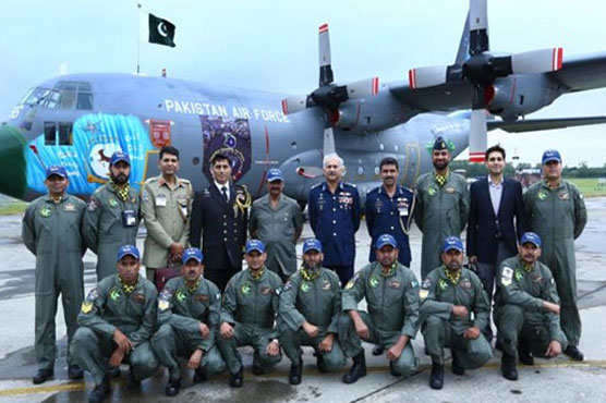 Pak-China Shaheen-VIII joint air exercise underway
