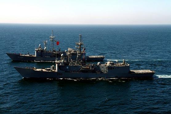Pak-Turkish navies hold bilateral exercise