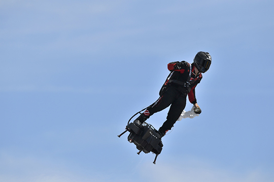 Flying Frenchman to make new Channel bid this week: team - WeirdNews