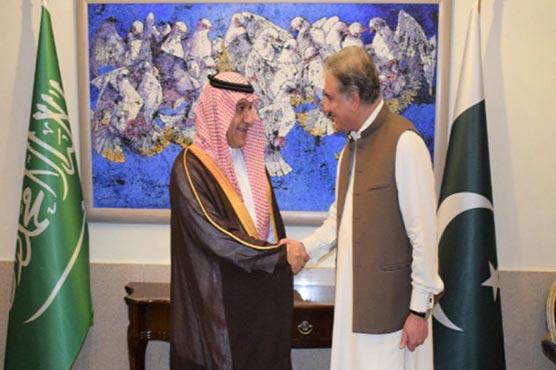 Pakistan, Saudi Arabia agree to strengthen ties in diverse fields