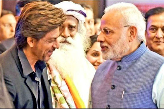 Indians force Shah Rukh Khan to leave country after Modi elected again
