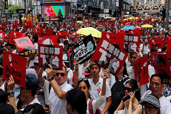 Thousands rally in Hong Kong over China extradition bill