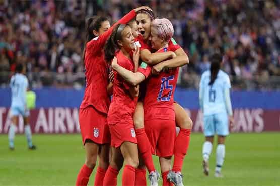 495633 56481076 - ویمن فٹبال ورلڈکپ: امریکہ نے تھائی لینڈ کو 0-13 سے ہرا دیا