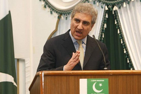FM Qureshi urges Pakistani students to highlight country's positive image