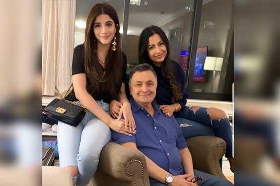 Rishi Kapoor appreciates Mawra Hocane's visit