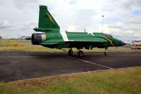 PAF JF-17 Thunder starts practice drills in Paris - Pakistan