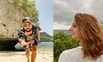 Iqra Aziz and Yasir Hussain together in Thailand