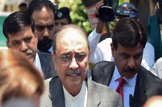 IHC to hear Zardari's bail application in Park Lane inquiry
