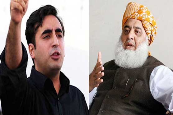 Fazl to meet Bilawal, Shehbaz today to devise joint strategy against govt