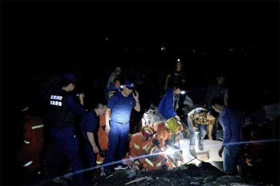 China earthquake quake kills 11, injures 122