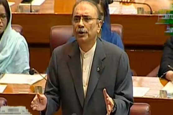 MQM held Karachi hostage for ten years: Asif Zardari