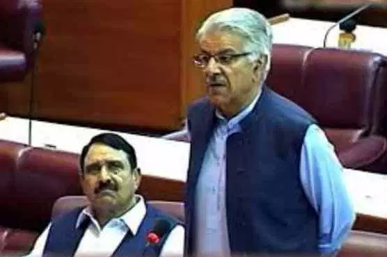 NA session: Khawaja Asif opposes dissolution of PTI government
