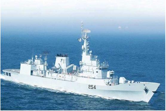Pakistan Navy Ship 'ASLAT' visits Salalah Port in Oman