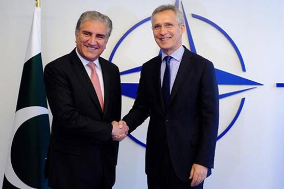 NATO Secretary General appreciates Pakistan's role in Afghan peace process
