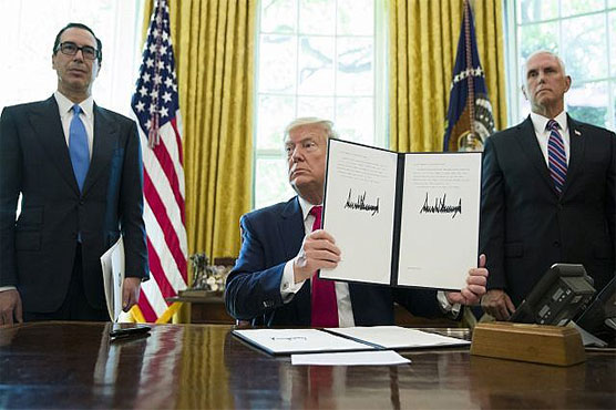 US hits Iran's supreme leader Khamenei with sanctions