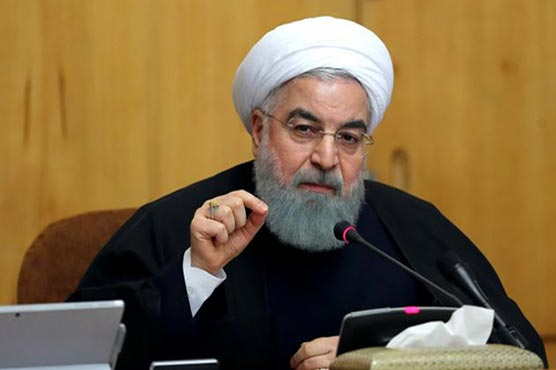 Iran says US sanctions rupture 'path to diplomacy'