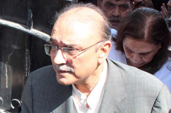 Asif Zardari withdraws pleas seeking pre-arrest bail in fake bank accounts case
