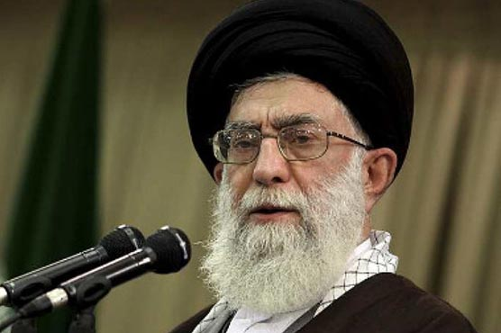 Iran's Khamenei says nation will not retreat in face of US sanctions and 'insults'