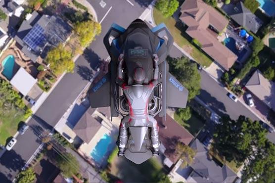 481560 94072720 - فضا میں پرواز کرنے والی موٹرسائیکل فروخت کیلئے پیش